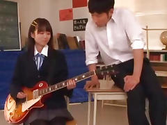 Asuka Hoshino hot school uniform fuck