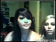 Two teens playing on cam - hookXup_ porn video