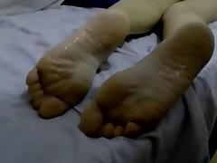 good morning cum on soles