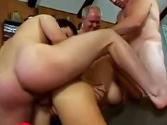 Vicky Vette Group Sex Slut