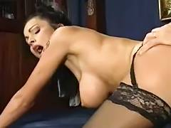 Classic Italien 90s Lady's in Stockings porn video
