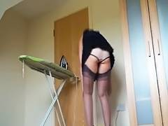 Kirsty Blue Ironing