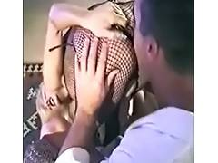 Tiffany Mynx bonks Paul Carrigan with a Belt On