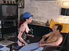 Vintage french anal beauty