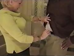 granny sucks black cock