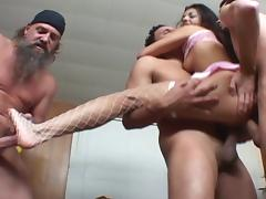 All, Anal, Gangbang, Stockings, Double Penetration