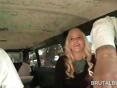 Bus, Amateur, Blonde, Bus, Caught, Reality