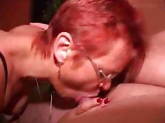 German Redhead Mature fucked