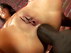 Cute Asian with juicy ass fuck in her anal