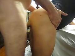 Cum On Sissies Ass