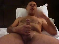 Just wanking and eat my cum