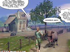 JACK AND THE BEANSTALK FAIRYTALE 3D Gay Comic Version