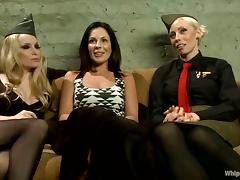 Bondage, Ass, BDSM, Blonde, Bondage, Brunette