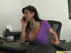 Brunette, Big Tits, Blowjob, Bra, Brunette, Couple