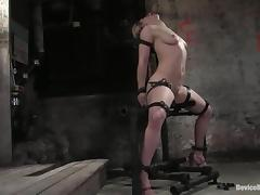 Naughty Tawni Ryden gets gagged and toyed deep