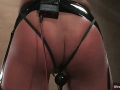 Hot Cecilia Vega gets tortured and toyed in her tight ass