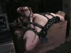 Gagging, BDSM, Blonde, Bondage, Gagging, Machine