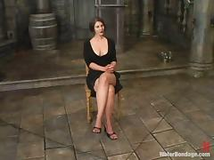 Savanna gets tormented and drowned in wet BDSM clip