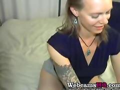 Horniest Amateur Mature BBW squirting a lot on Webcam