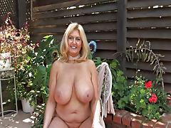 Mom and Girl, Big Tits, Blonde, Boobs, Cunt, Masturbation