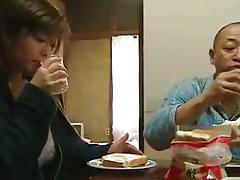 Japanese Granny, Asian, Couple, Cum, Cumshot, Cunt