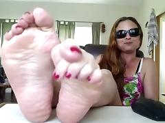 hot mature feet