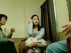 Toned Jap hottie gets nice hardcore Japanese cramming