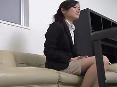 Asian MILF creamed well in spy cam Asian sex video