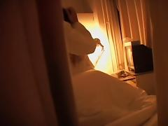 Some voyeur filmed a Japanese couple shagging in their room