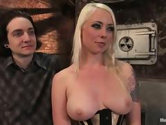 Corset, BDSM, Blonde, Corset, Femdom, Punishment