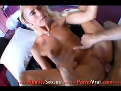 Nicky French Anal Teen Fucked by Big Cock