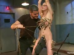 Penny Pax undergoes some tortures and gets a wild orgasm