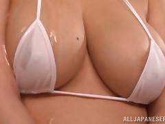 Japanese, Asian, Big Tits, Bikini, Boobs, Couple