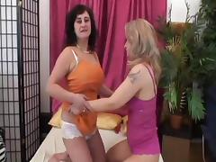 Big Tit Lesbo Grannies Goldie And Djamila In Toy Fuck