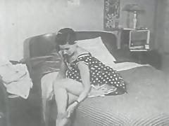Retro Porn Archive Video: Femmes seules 1950's 10 porn video
