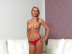 Beauty, Audition, Beauty, Blonde, Blowjob, Boobs