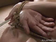 Hardcore Japanese fetish bondage with Reiko Sawamura