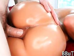 Chicks and men relaxing porn video