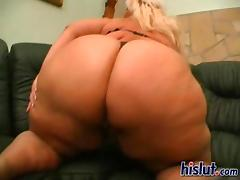 Carrie fucks her big fat chubby lover