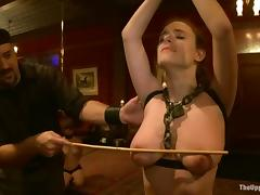 Iona Grace and Jessie Cox get tormented and enjoy it much