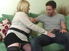 All, Blonde, Blowjob, Mature, Stockings