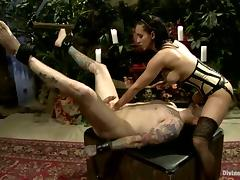 Hot Cock Ride and Face Sitting Action Plus Pegging by Isis Love porn video