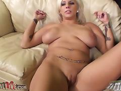 Blonde Sexy Slut With Huge Tits Is Ready For Hard Cock