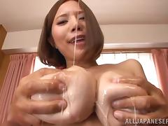 All, Asian, Boobs, Brunette, MILF, Oil