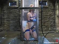 Pinky Lee gets tormented and drowned in a basement and likes it porn video