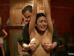 Poor Beretta James get spanked and toyed by her master porn video
