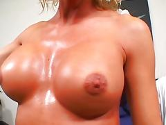 Blonde wife TJ Powers banged hard