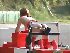 Japanese Bondage - And SQUIRTS! - Robot Race porn video