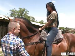 Jeans, Couple, Fingering, Jeans, Outdoor, Reality