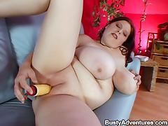 Amateur Fatty with Humongous Boobs Fucking Amazingly